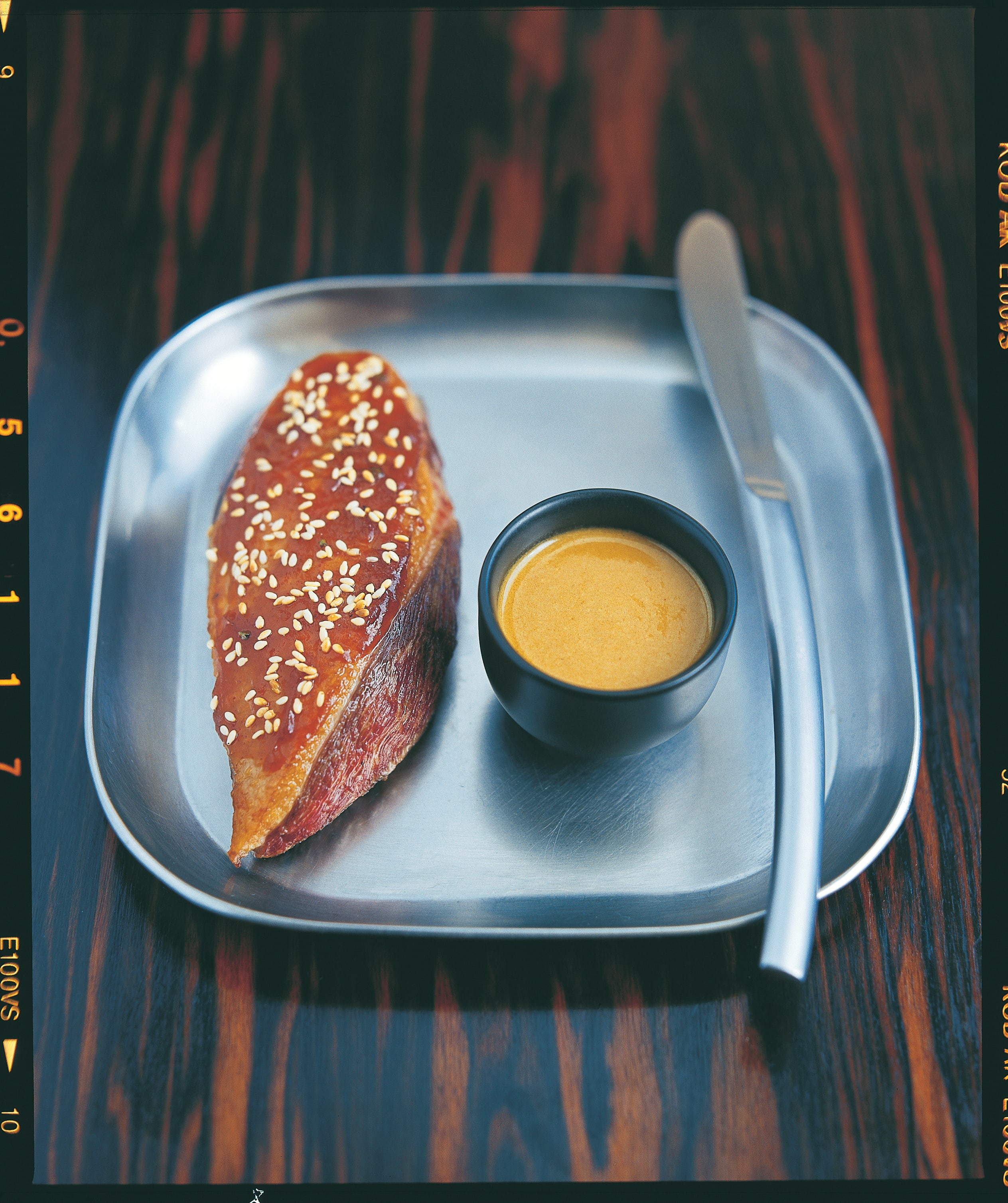 SEARED DUCK BREASTS ITH SESAME TAMARIND SAUCE(1)-min