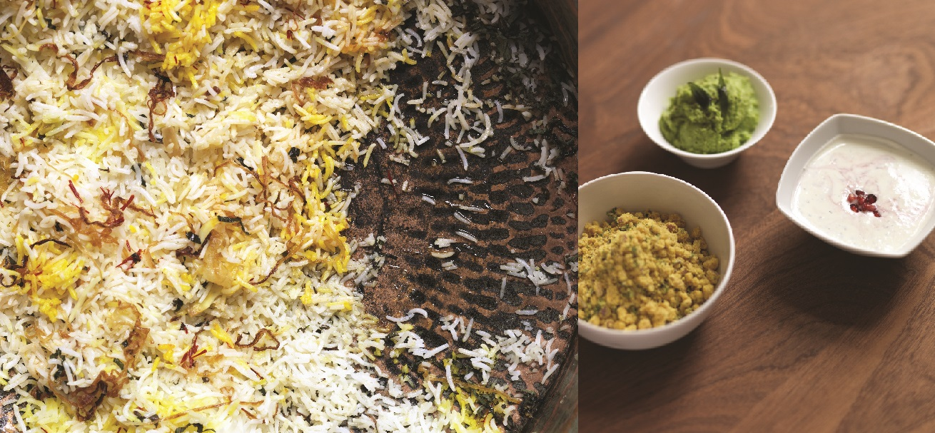 biryani and raita