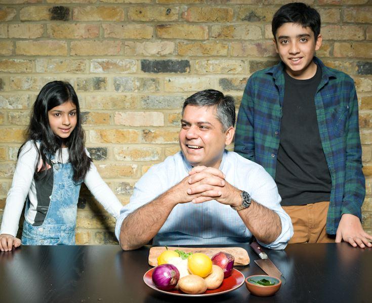 Vivek and kids